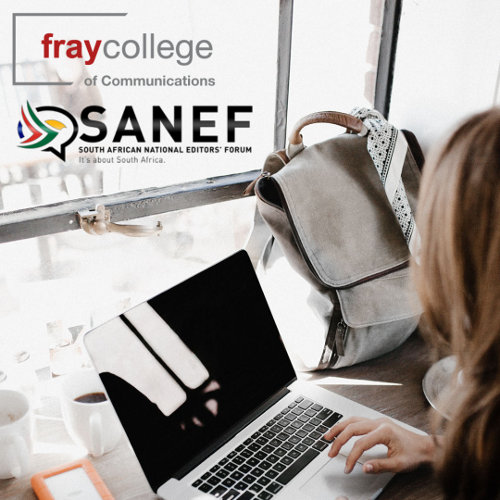fraycollege and SANEF: Industry training for the newsroom of the future