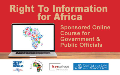 Learn to harness right to information law to promote human rights